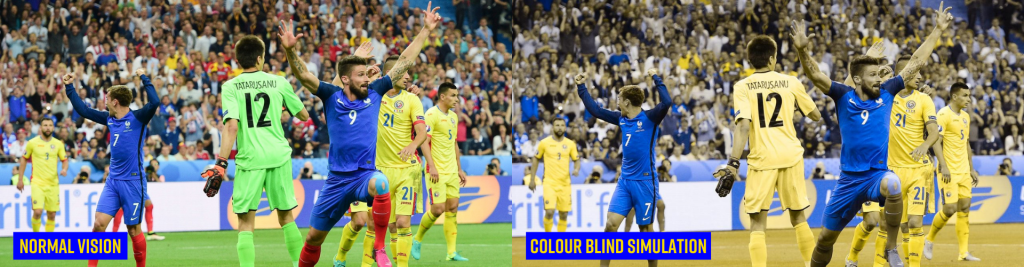 UEFA Nations League Matches Promote Colour Blind Awareness Day 2020