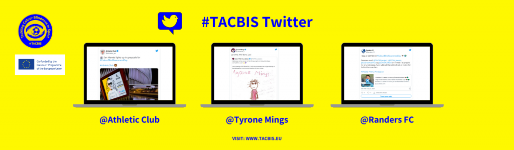 Colour Blind Awareness Day 2021 - TACBIS on social media