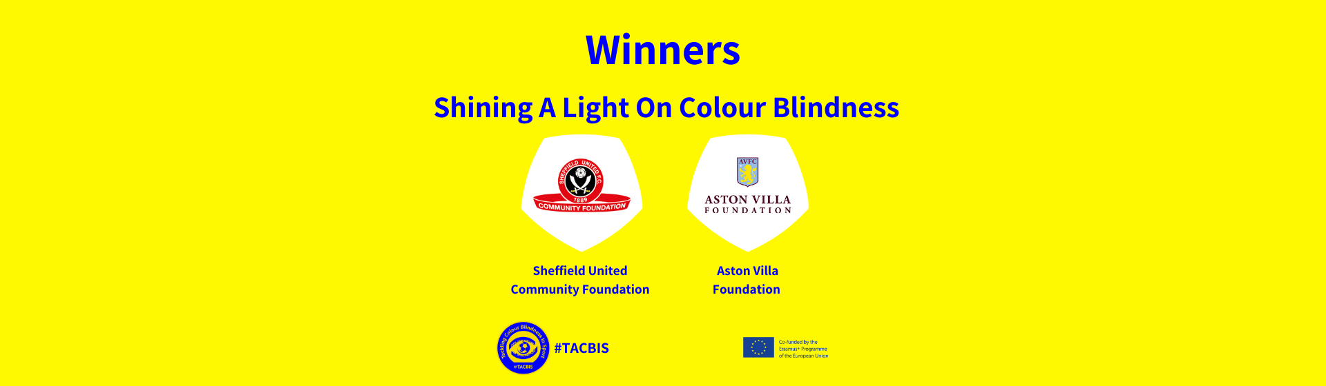 Aston Villa and Sheffield United winners of drawing competition header